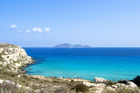 egadi: Favignana - Wonderful island of the Egadi in Trapani, Sicily