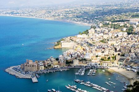 golfo: Castellammare del Golfo - Trapani, Sicilia Stock Photo