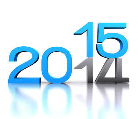 entry numbers: Here comes the new year     2015 - 3D