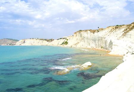 Spectacular coast of Agrigento - Scala dei Turchi