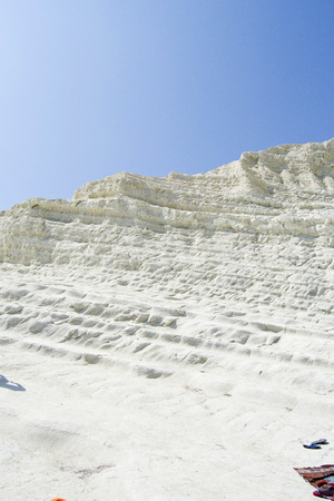 Spectacular coast of Agrigento - Scala dei Turchi photo