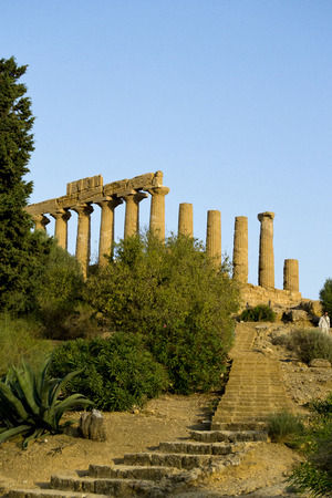 Temple of Juno - Valley of Temples, Agrigento photo