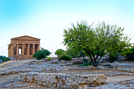 Temple of Concord - Agrigento, Sicily photo