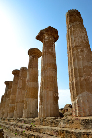 valley of the temples: Temple of Eracle - Valley of the Temples, Agrigento