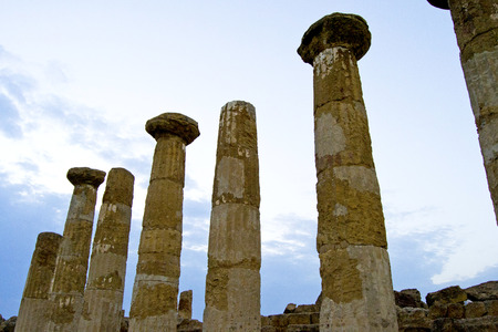 Temple of Eracle - Valley of the Temples, Agrigento photo