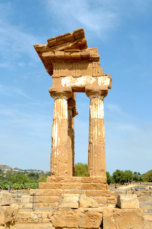 Temple of the Dioscuri - Valley of the Temples, Agrigento photo