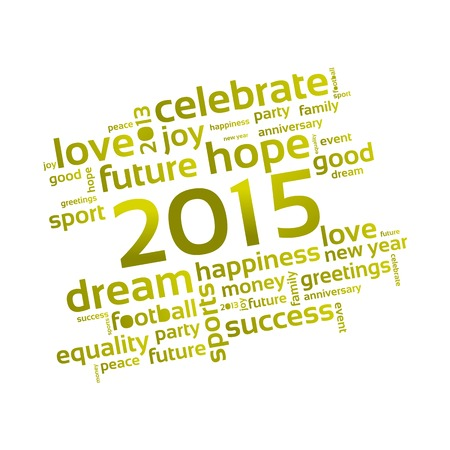 Abstract Background - Happy New Year 2015