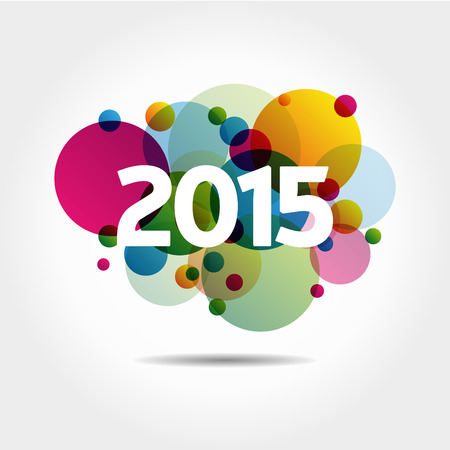 new entry: Abstract Background - Happy New Year 2015