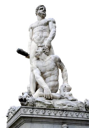 Hercules and Cacus, Piazza della Signoria - Florence