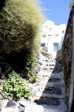 santorini greece: Panorama beautiful island of Santorini - Greece, Europe