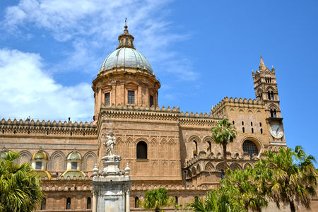 Palermo majestic Cathedral of Saint Virgin Mary Assumption