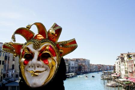 wildcard: Carnival of Venice, Rialto Bridge - Italy