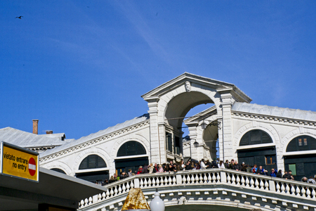 rialto: Beautiful Rialto Bridge - Venice, Italy Stock Photo