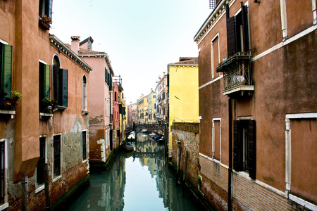 Panorama of the Grand Canal of Venice - Italy