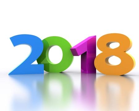 새해 복 많이 받으세요 2018 - 3D