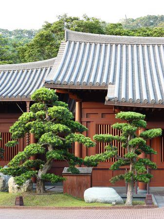 Chinese hut photo