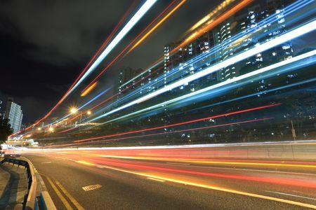 Highway in Hong Kong Stock Photo