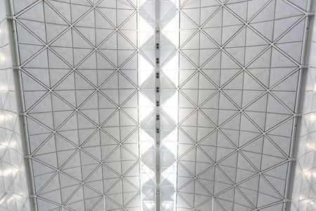 ceiling of Hong Kong International Airport photo