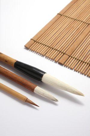 Chinese writing brush Stock Photo - 6320641