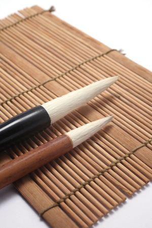 Chinese writing brush Stock Photo - 6320638