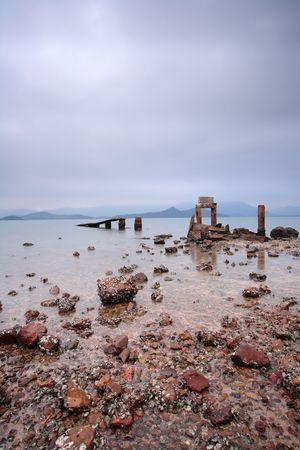 broken pier photo