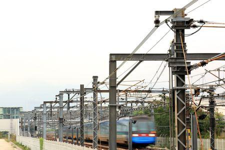 railway iin Hong Kong photo
