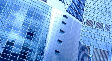 business building exterior   photo