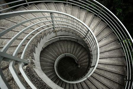 spiraling stairs photo