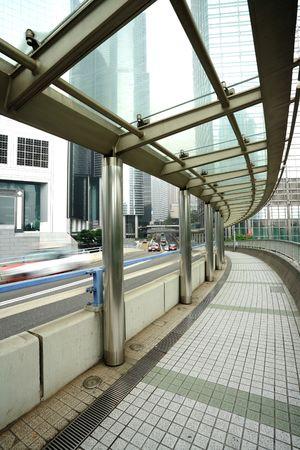 vlonder: voetgangersbrug Stockfoto