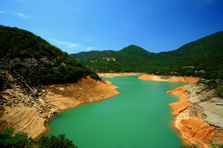tam: Tai Tam Reservoirs in Hong Kong