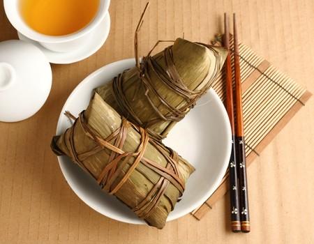 Rice dumplings photo