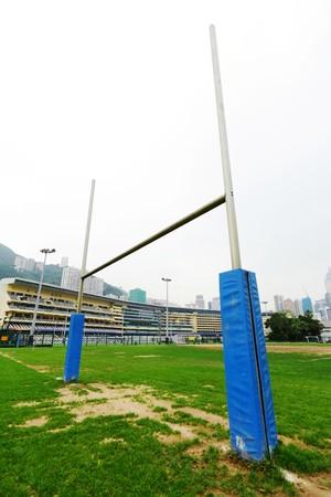 rugby goalpost photo