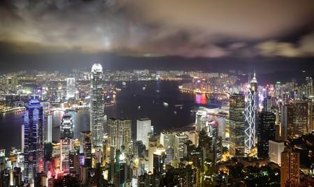 Hong Kong night view Stock Photo - 7328158