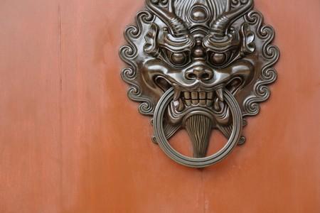 chinese door lock Stock Photo - 7479519