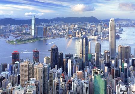 modern Hong Kong Stock Photo - 7479610