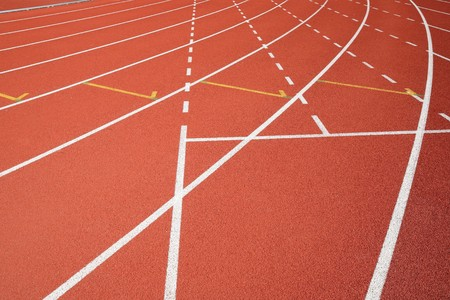 sport field lines Stock Photo - 7574138