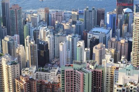 buildings in Hong Kong Stock Photo - 7574128