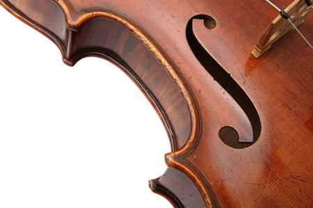violin close up photo