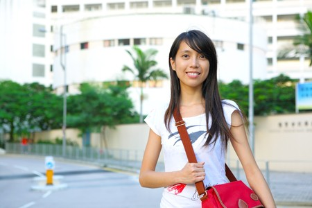 college student at campus Stock Photo - 7785087
