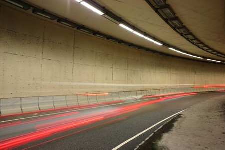 traffic in tunnel photo
