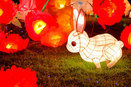 lantaarn voor Chinees medio herfst festival