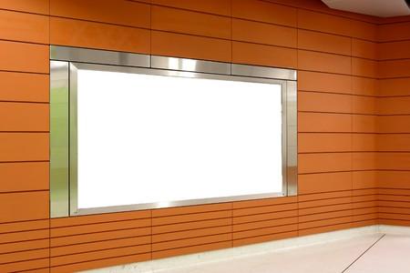 blank billboard indoor Stock Photo - 7887965