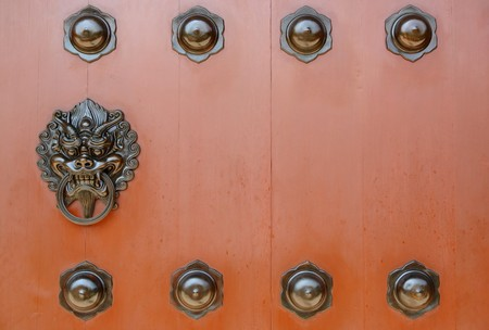 chinese door Stock Photo - 7914737