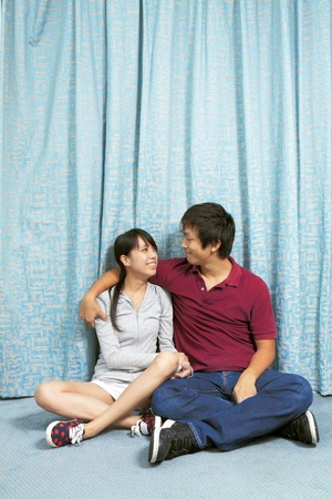 couples at home Stock Photo - 7971951