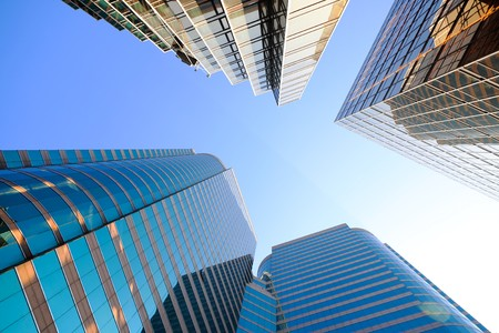 buildings in Hong Kong Stock Photo - 8027614