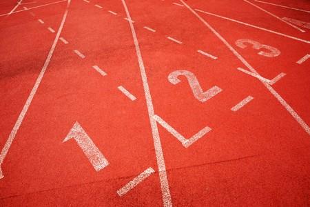 start of running track Stock Photo - 8085769