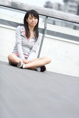 depressed girl photo