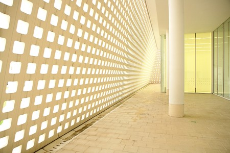 modern corridor photo
