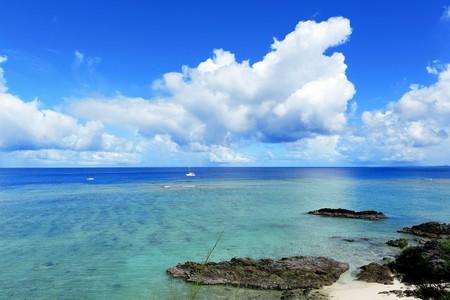 seascape in okinawa japan Stock Photo