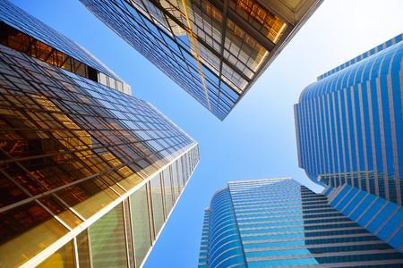rascacielos: edificios de oficinas
